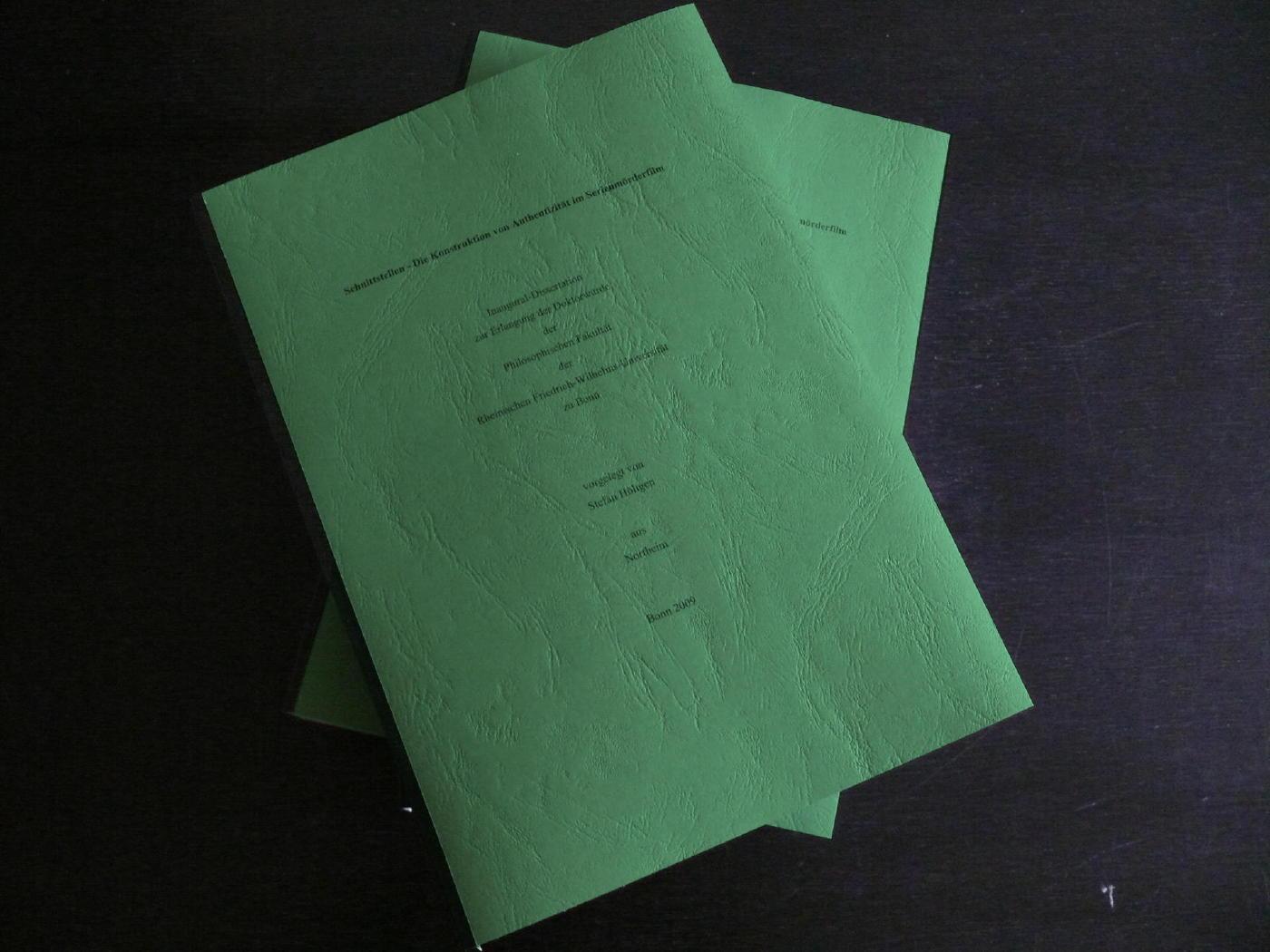 Schnittstellen - Die Konstruktion von Authentizität im Serienmörderfilm
