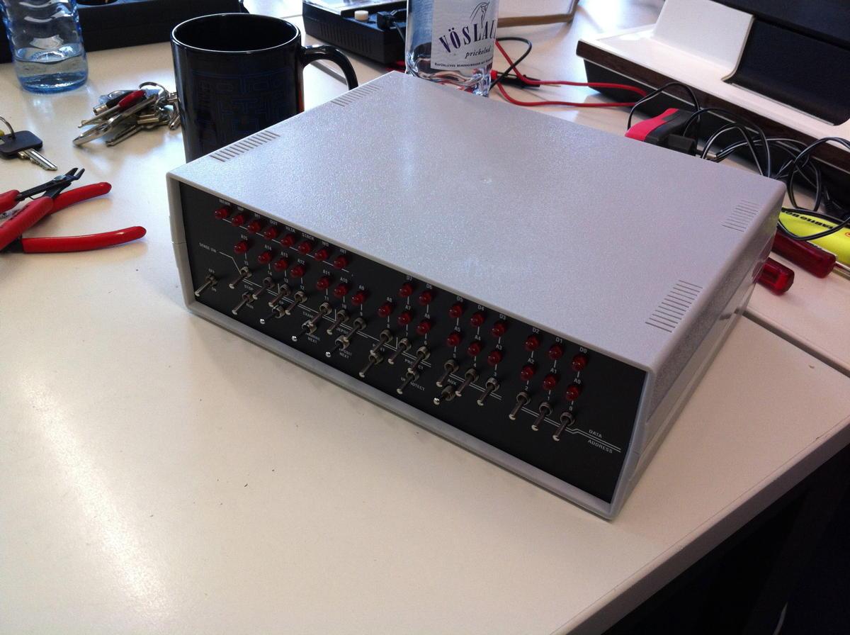 Der fertig montierte Altair 8800micro