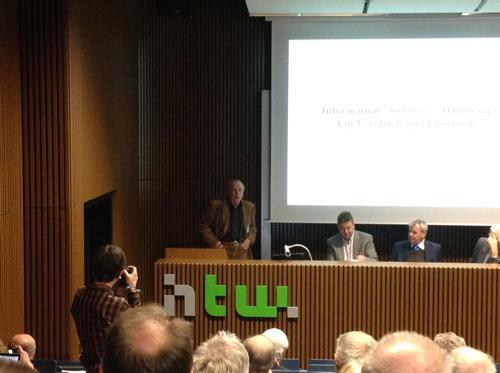 Horst Völz auf der GI-Tagung 2015
